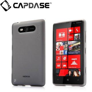 【定番のソフトケース】 CAPDASE Nokia Lumia 820 Soft Jacket 2 XPOSE  Clear Black