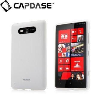 【定番のソフトケース】 CAPDASE Nokia Lumia 820  Soft Jacket 2 XPOSE  Clear White