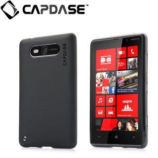 【定番のソフトケース】 CAPDASE Nokia Lumia 820 Soft Jacket 2 XPOSE  Solid Black