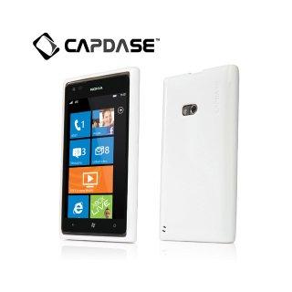 【ラメ入りソフトケース】 CAPDASE Nokia Lumia 900 Soft Jacket 2 XPOSE Sparko  Solid White