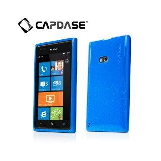 【ラメ入りソフトケース】 CAPDASE Nokia Lumia 900 Soft Jacket 2 XPOSE Sparko  Solid Blue
