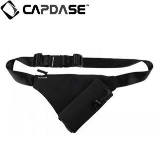 【防水ウエストポーチ】 CAPDASE Water-Resistant Waist Pouch  Black