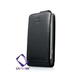 CAPDASE HTC Desire Z Flip Top たて開きタイプ 牛革レザーケース