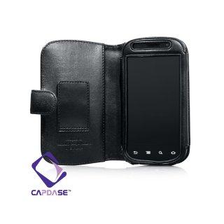 CAPDASE SAMSUNG Google Nexus S Bi-fold (よこ開き) レザーケース