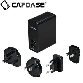 【GALAXY Tab 用 充電器】 CAPDASE Dual USB Power Adapter GALAXY Tab シリーズ 対応