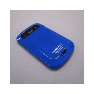 【キラキラのラメが入ったソフトケース】 FONEMAX docomo BlackBerry Bold 9900 ラメ入り TPU Case  Blue