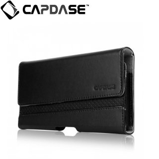 【iPhone 6s Plus ケース ホルスタータイプ】 CAPDASE Klip Holster Race Mett 165A  Black