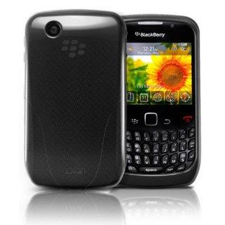 iSkin BlackBerry Curve 9300 Vibes 抗菌加工 ソフトケース ブラック