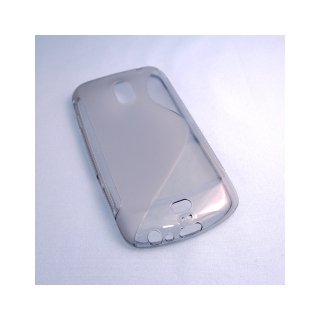 【シンプルなソフトケース】 GauGau docomo GALAXY NEXUS SC-04D Wave Soft Case  Clear Black