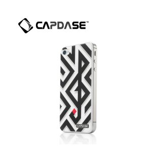 【水で洗える背面保護フィルム】 CAPDASE iPhone 4/4S ProSkin: CLEF
