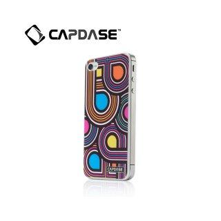 【水で洗える背面保護フィルム】 CAPDASE iPhone 4/4S ProSkin: Retro