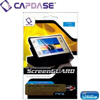 CAPDASE DELL Streak SoftBank 001DL ScreenGuard Gold mira 「ゴールドミラー」 液晶保護フィルム
