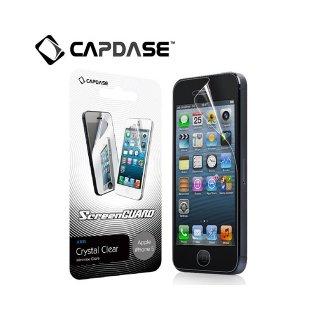 【低反射の液晶保護フィルム】 CAPDASE ScreenGuard ARiS iPhone SE/5s/5 「クリスタル・クリアー 光沢」