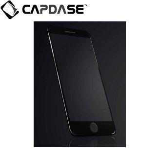 【iPhone7 フィルム 液晶面の端まで保護するガラス】 CAPDASE iPhone7 3D Full Glass  Clear/Black