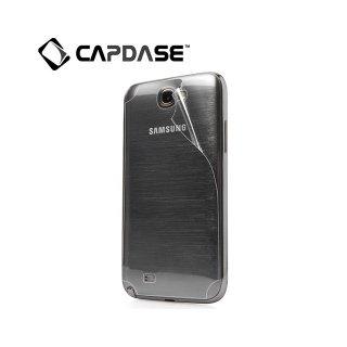 【スマホの背面をフィルムで保護】 CAPDASE GALAXY Note 2 SC-02E BodiFender CF iMAG 「ツヤ消し」