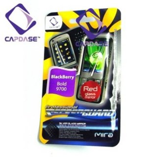 CAPDASE BlackBerry Bold 9780/9700 ScreenGuard red mira 「レッドミラータイプ」 液晶保護フィルム