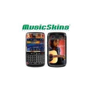 【本体保護フィルム】 Music Skins BlackBerry Bold 9780 - ボブ マーリー - Guitar