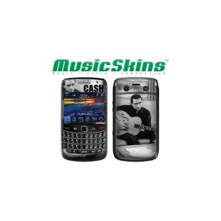【本体保護フィルム】 Music Skins BlackBerry Bold 9780 - ジョニー キャッシュ - Strum