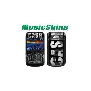 【本体保護フィルム】 Music Skins BlackBerry Bold 9780 - ジョニー キャッシュ - CASH