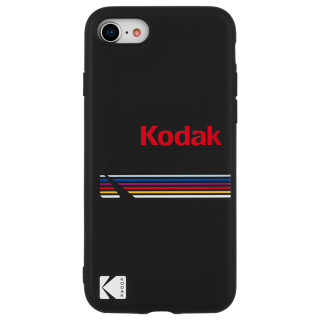 【Case-Mate×Kodak コラボレーション】  iPhone 8 / 7 / 6s / 6 Case Kodak Matte Black + Shiny Black Logo