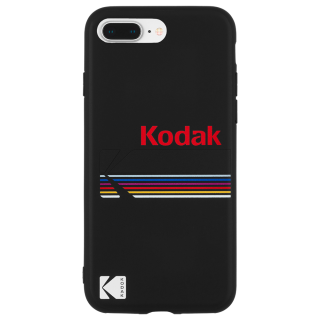 【7月上旬入荷予定】【Case-Mate×Kodak コラボ】 iPhone 8 Plus Case Kodak Matte Black + Shiny Black Logo