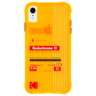 【Case-Mate×Kodak コラボレーション】  iPhone XR Case Kodak Vintage Kodachrome II Print