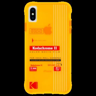 【Case-Mate×Kodak コラボ】  iPhone Xs Max Case Kodak Vintage Kodachrome II Print
