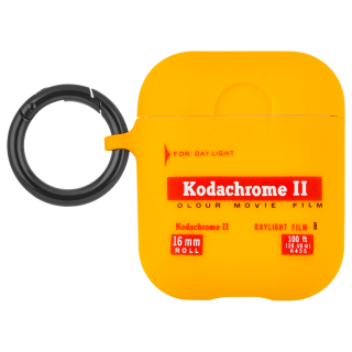 【Case-Mate×KODAK・AirPods 第1世代・第2世代・ワイヤレス充電OK】  KODAK  Vintage Kodachrome II Print Case for AirPods