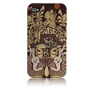 【衝撃に強いデザインケース】 iPhone 4S/4 Hybrid Tough Case, Free