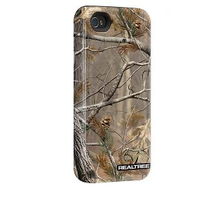 【衝撃に強いデザインケース】 iPhone 4S/4 Hybrid Tough Case, Real Tree Camo AP