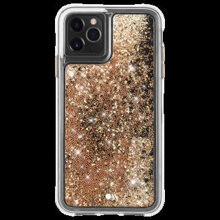 <img class='new_mark_img1' src='https://img.shop-pro.jp/img/new/icons1.gif' style='border:none;display:inline;margin:0px;padding:0px;width:auto;' />【ラメが滝のように流れるおしゃれなケース】iPhone 11 / 11 Pro / 11 Pro Max Case Waterfall Gold