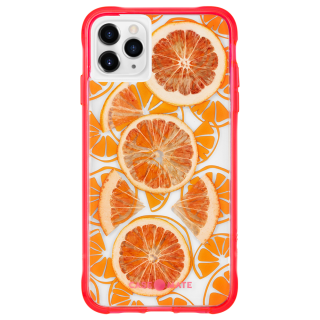 <img class='new_mark_img1' src='https://img.shop-pro.jp/img/new/icons1.gif' style='border:none;display:inline;margin:0px;padding:0px;width:auto;' />【本物のフルーツが入った、フルーツケース】 iPhone 11 / 11 Pro / 11 Pro Max Case Tough Juice - Fresh Citrus