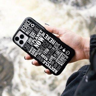【リサイクル素材で作られたiPhoneケースで地球にメッセージ】 iPhone 11 / 11 Pro / 11 Pro Max Case Eco94 Recycled Save The Planet