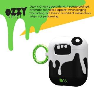 【AirPods全機種対応・ワイヤレス充電OK・かわいいステッカー付】 AirPods Case CreaturePods - OZZY