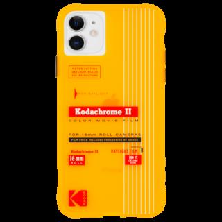 【Case-Mate×Kodak コラボ】 iPhone 11 / 11 Pro / 11 Pro Max Case Kodak - Vintage Kodachrome II Print