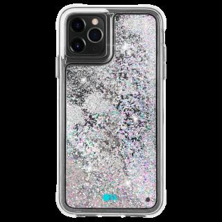 <img class='new_mark_img1' src='https://img.shop-pro.jp/img/new/icons1.gif' style='border:none;display:inline;margin:0px;padding:0px;width:auto;' />【ラメが滝のように流れるおしゃれなケース】iPhone 11 / 11 Pro / 11 Pro Max Case Waterfall Iridescent