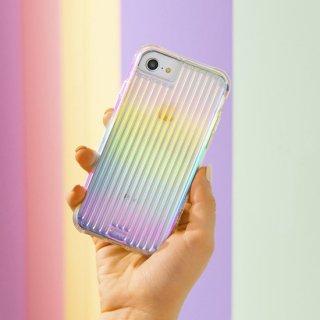 【キラキラと光るイリデセントカラー・握り心地◎】  iPhone SE(第2世代/2020年発売) / 8 / 7 / 6s / 6 Case Tough Groove Iridescent