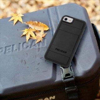 【Pelican コラボレーション】  iPhone SE(第2世代/2020年発売) / 8 / 7 / 6s / 6 Case ペリカン Protector - Black