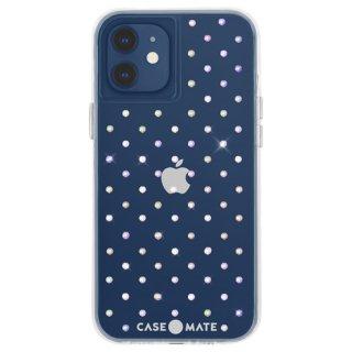【宝石のように輝く抗菌ケース】iPhone 12 mini Iridescent Gems w/ Micropel