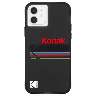 【Kodak × Case-Mate】iPhone 12 mini Matte Black + Shiny Black Logo