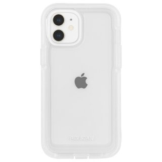 【Pelican × Case-Mate】抗菌ケース iPhone 12 mini Pelican Marine Active - Clear w/ Micropel