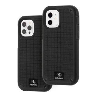 【Pelican × Case-Mate 】抗菌ケース iPhone12/iPhone12 Pro Pelican Shield-Black G10 w/Micropel ホルスターセット