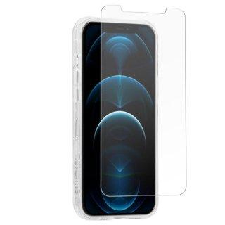 【抗菌の高品質ガラスフィルム】iPhone 12 / iPhone 12 Pro Ultra Glass Screen Protector w/ Micropel