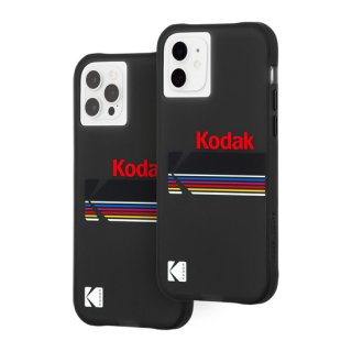 【Kodak × Case-Mate】iPhone 12 / iPhone 12 Pro Matte Black + Shiny Black Logo