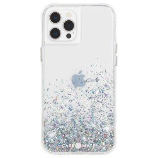 【美しく輝く抗菌ケース】iPhone 12 Pro Max Twinkle Ombré - Black w/ Micropel