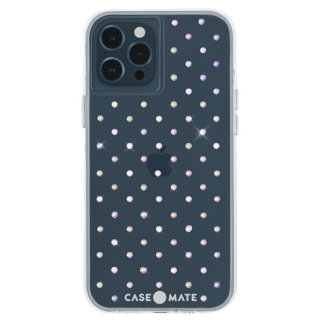 【宝石のように輝く抗菌ケース】iPhone 12 Pro Max Iridescent Gems w/ Micropel
