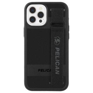 【Pelican × Case-Mate】抗菌ケース iPhone 12 Pro Max Pelican Protector Sling - Black w/ Micropel