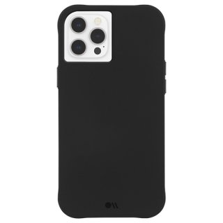 【シンプルでクールなデザイン】iPhone 12 Pro Max Tough - Black