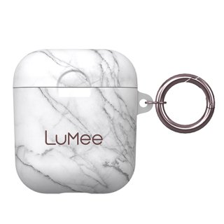 【LuMee × Case-Mate】AirPods ケース White Marble