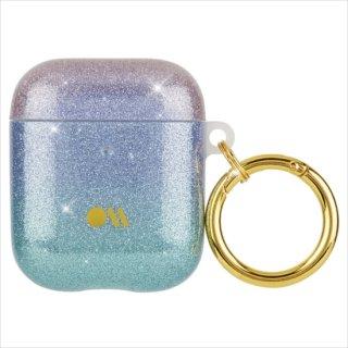 【キラキラと輝く・AirPods 第1世代・第2世代・ワイヤレス充電もOK+抗菌仕様】 AirPods Case Shimmer - Iridescent